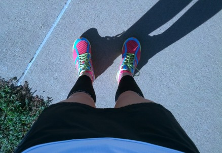 first run in new skirt