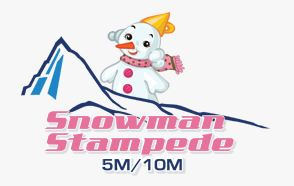 snowman stampede - Winter Distance Series